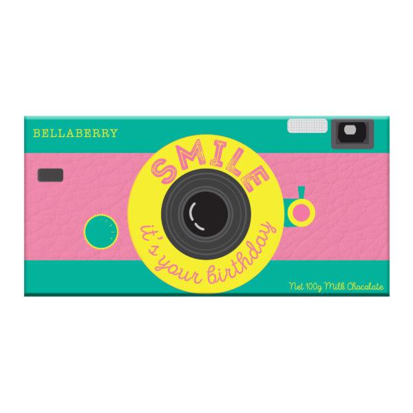 762 - Happy B'Day Camera